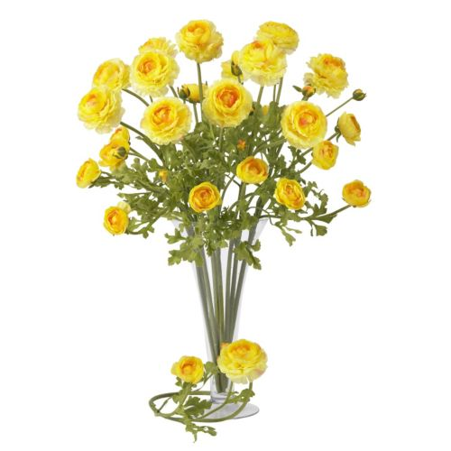 nearly natural 12-pc. Silk Ranunculus Stem Set