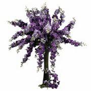 nearly natural 12 pc Silk Delphinium Stem Set