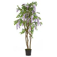 nearly natural 5-ft. Silk Wisteria Tree