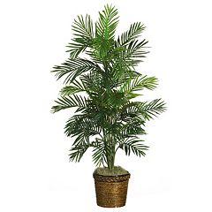nearly natural 4.5-ft. Silk Areca Palm Tree