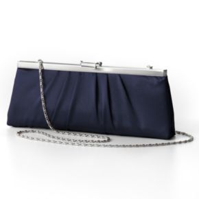 Gunne Sax by Jessica McClintock Pleated Satin Convertible Clutch