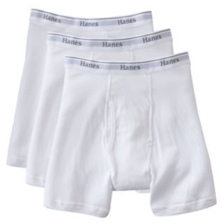 Big & Tall Hanes 3-pack Boxer Briefs