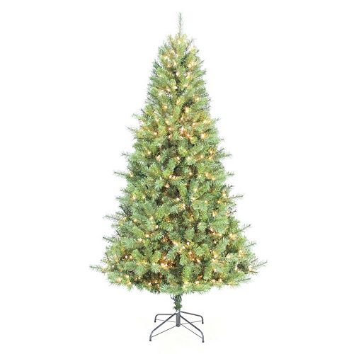 - St. Nicholas Square® 7-ft. Douglas Fir Pre-Lit Christmas Tree