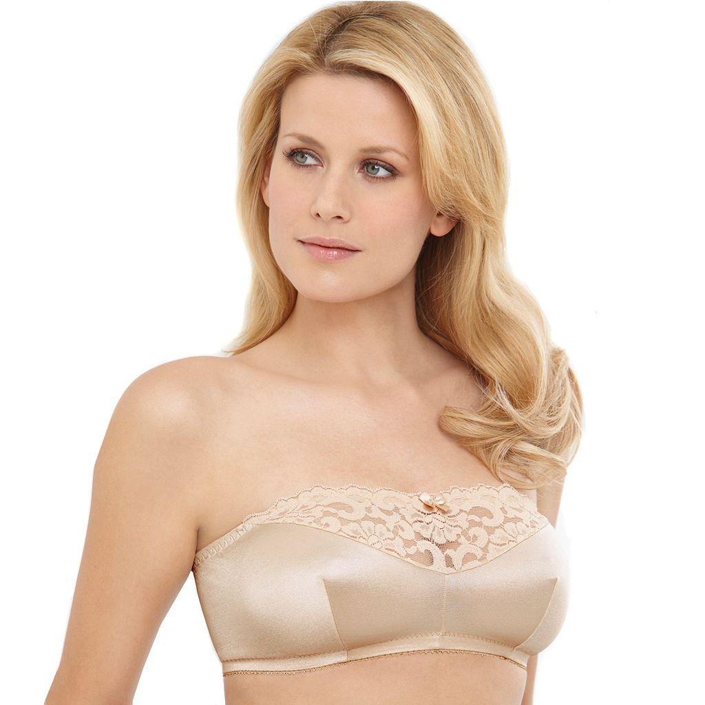 Glamorise Bra: Complete Comfort Strapless Bra 1800 - Women's