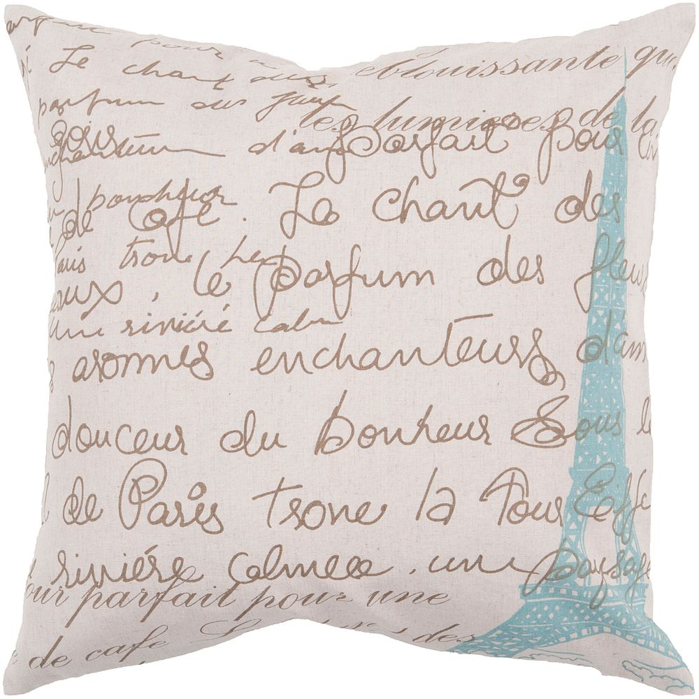 "Decor 140 Glane Decorative Pillow - 22"" x 22"""