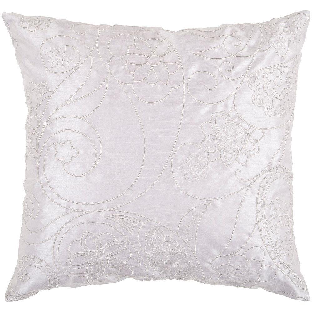 Decor 140 Gordola Embroidered Floral Decorative Pillow