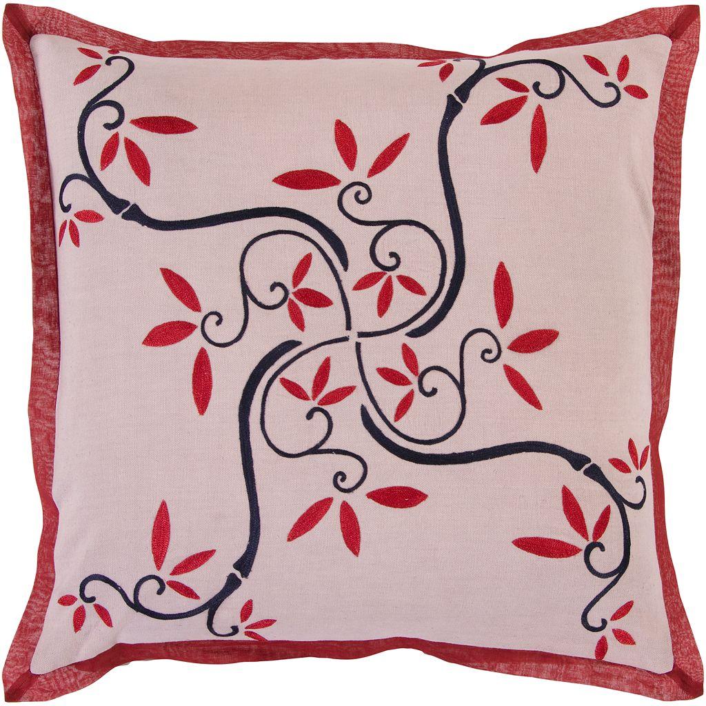 Decor 140 Greenback Floral Decorative Pillow