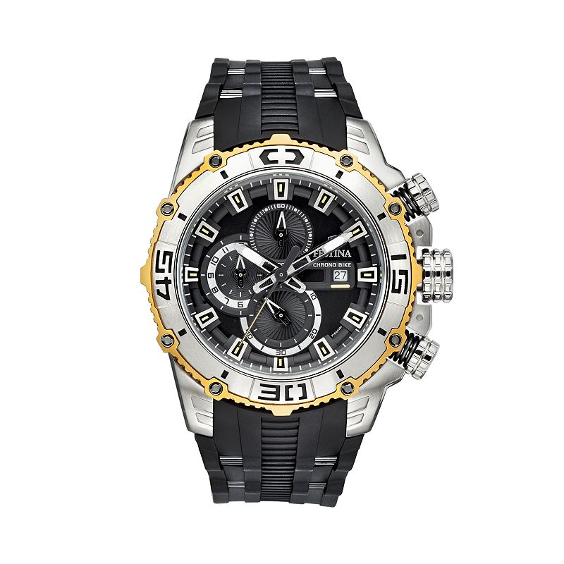 Festina Stainless Steel Chronograph Watch - F16601/2 - Men