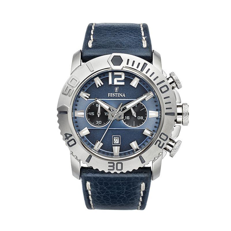 festina chronograph watch instructions
