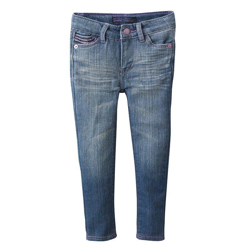 Levi's Sequin Denim Leggings - Toddler (Blue)