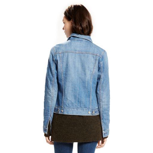 Women's Levi's Denim Trucker Jacket
