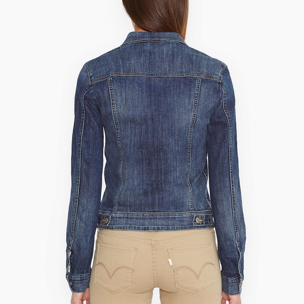 Women's Levi's Denim Trucker Jacket
