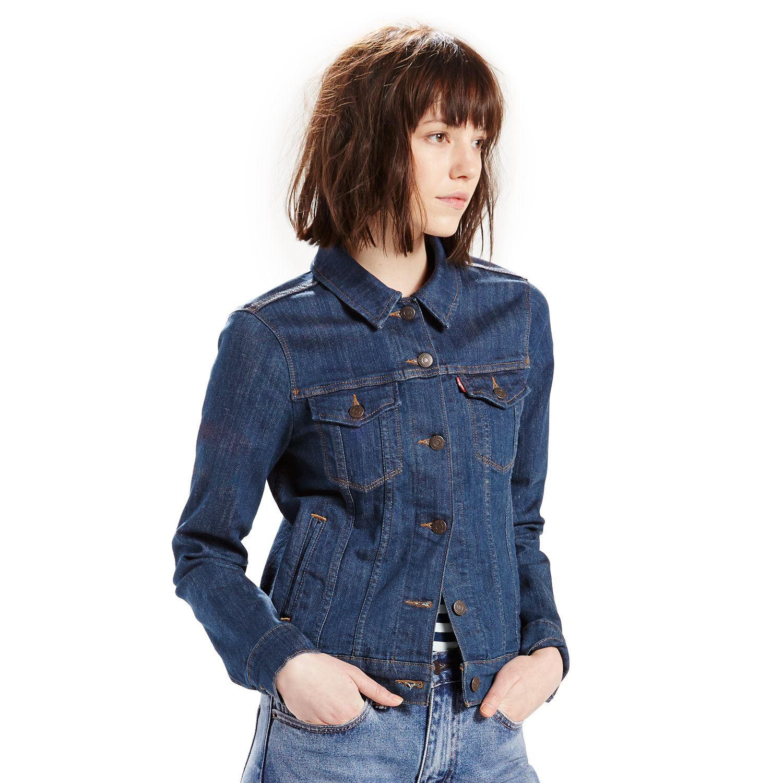 Womens Levis Classic Denim Jacket