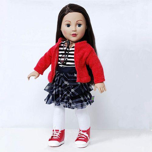 Dollie & Me 18-in. Brunette Schoolgirl Doll