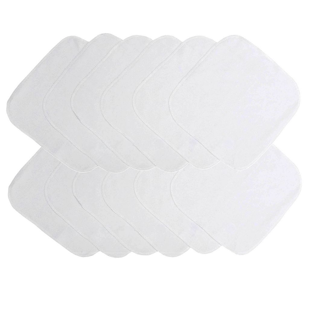 Neat Solutions 12-pk. Solid Terry Washcloths