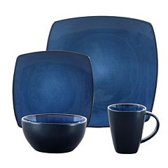 Gibson Soho Lounge 16 pc Square Dinnerware Set
