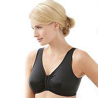 Glamorise Bra: Complete Comfort Front-Closure Leisure Bra 1803 - Women's