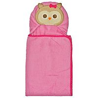 Neat Solutions 3-D Owl Hooded Bath Wrap
