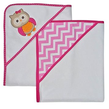 Neat Solutions 2-pk. Owl Hooded Towels
