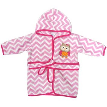 Neat Solutions Owl Hooded Fleece Bath Robe