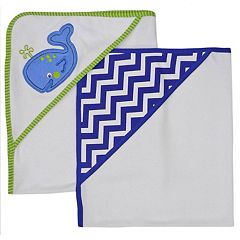 Neat Solutions 2 pkWhale Hooded Towels