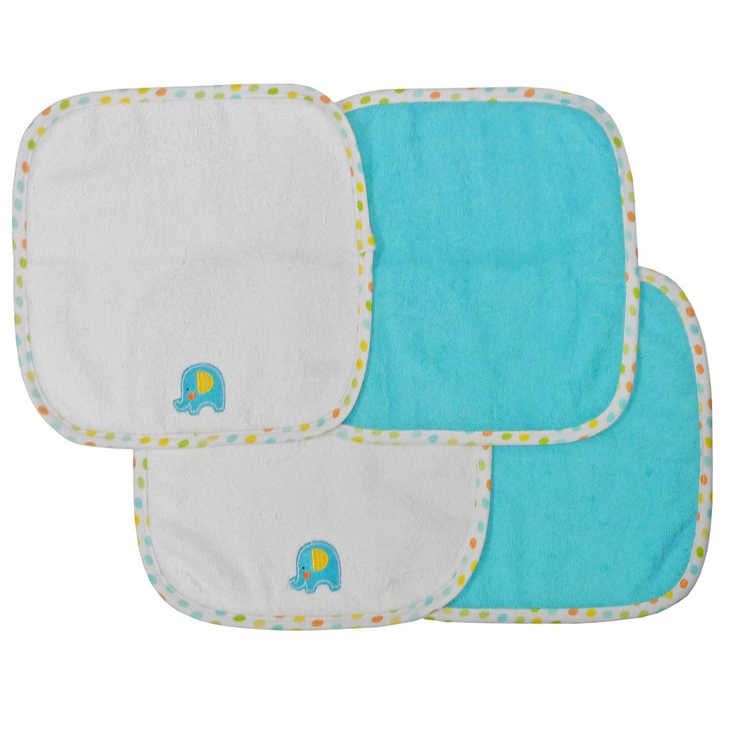 Neat Solutions 4-pk. Elephant Washcloths