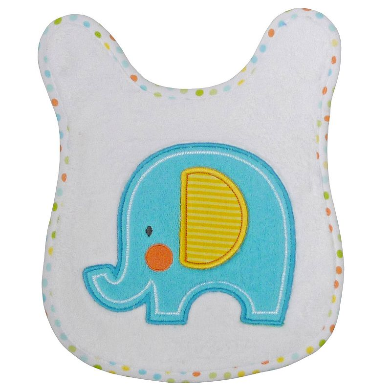 Neat Solutions Elephant Bath Tummy Towel, Multicolor