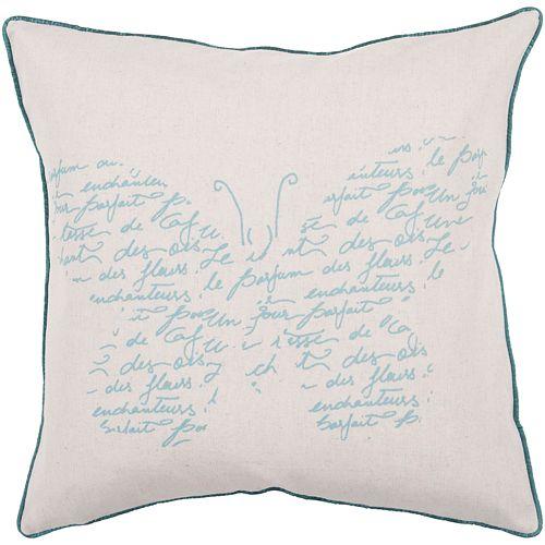 """Decor 140 Sarganserland Decorative Pillow - 22"""" x 22"""""""