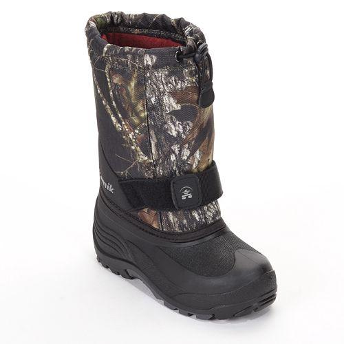 Kamik ROCKET Camo Boys Kids winter boots