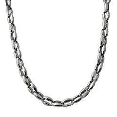 Stainless Steel Anchor Necklace - Men