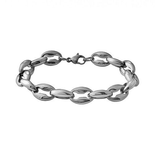 Stainless Steel Anchor Bracelet - Men