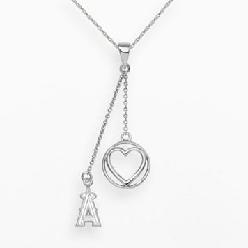 Los Angeles Angels of Anaheim Beloved Sterling Silver Linear Pendant
