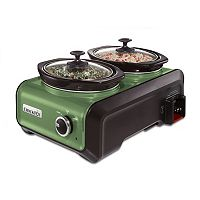 Crock-Pot Double 1-qt. Hook Up Connectable Entertaining System