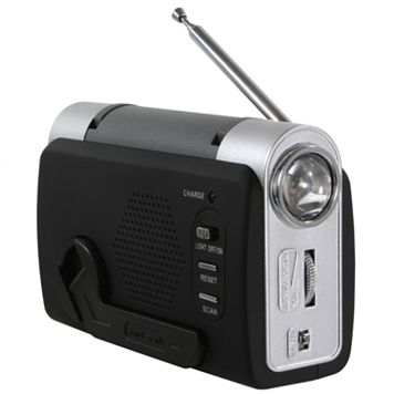 Hand Crank Emergency Radio