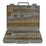 115-Piece Titanium Drill Bit Set