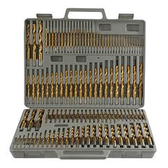 115 pc Titanium Drill Bit Set