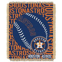 Houston Astros Jacquard Throw by Northwest
