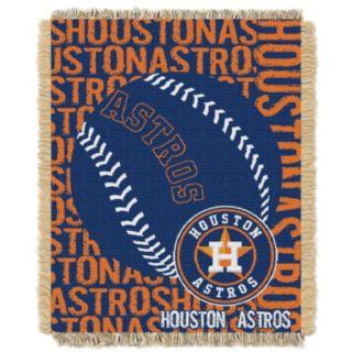 Houston Astros Jacquard Throw by Northwest