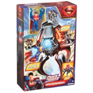 DC Comics Superman Man of Steel Quickshots Battle For Metropolis Playset