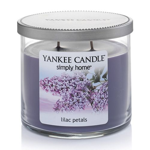 Yankee Candle simply home 10-oz. Lilac Petals Jar Candle