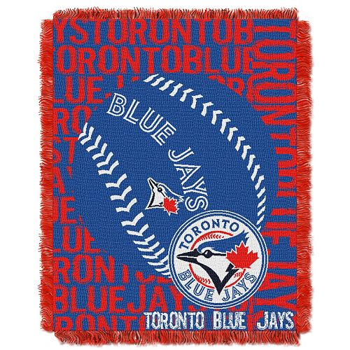 Toronto Blue Jays Jacquard Throw by Northwest