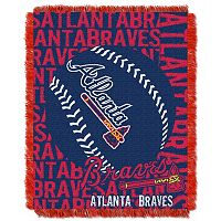 Atlanta Braves Jacquard Throw by Northwest