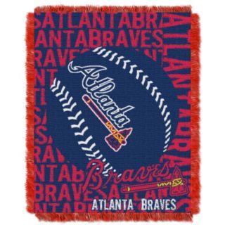 Atlanta Braves Jacquard Throw by Northwest