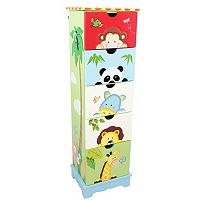 Teamson Kids Sunny Safari 5-Drawer Cabinet