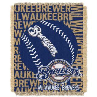 Milwaukee Brewers Jacquard Throw by Northwest