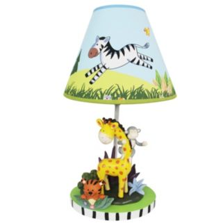 Teamson Kids Sunny Safari Table Lamp