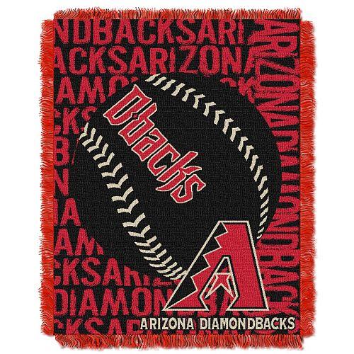 Arizona Diamondbacks Jacquard Throw by Northwest