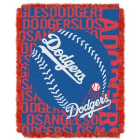 Los Angeles Dodgers Jacquard Throw by Northwest
