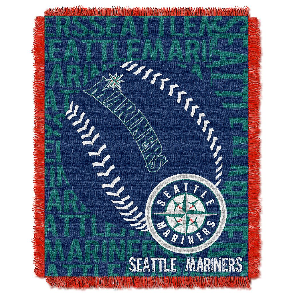 Seattle Mariners Jacquard Throw by Northwest