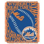 New York Mets Jacquard Throw by Northwest